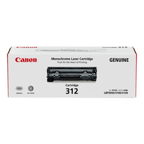 Original Canon Black Toner Cartridge CART 312