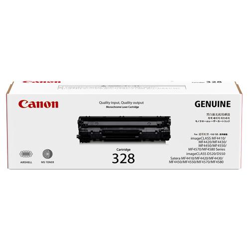 Original Canon Black Toner Cartridge CART 328