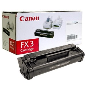 Original Canon Black Toner Cartridge CART FX3