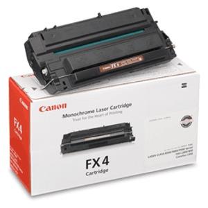 Original Canon Black Toner Cartridge CART FX4