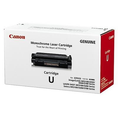 Original Canon Black Toner Cartridge CART U