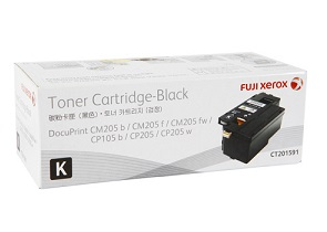 Original Fuji Xerox Black Standard Cap Toner Cartridge CT201591