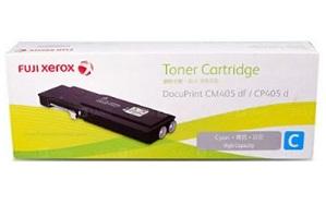Original Fuji Xerox Cyan High Cap Toner Cartridge CT202034