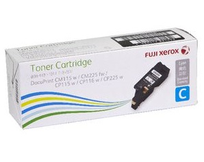 Original Fuji Xerox Cyan Low Cap Toner Cartridge CT202268