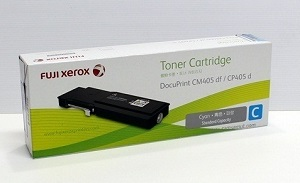 Original Fuji Xerox Cyan Standard Cap Toner Cartridge CT202019