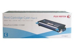 Original Fuji Xerox Cyan Standard Cap Toner Cartridge CT350671