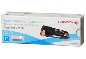 Original Fuji Xerox Cyan Toner Cartridge CT201304