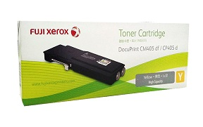 Original Fuji Xerox Yellow High Cap Toner Cartridge CT202036
