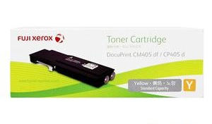 Original Fuji Xerox Yellow Standard Cap Toner Cartridge  CT202021 for DP CP405d DP CM405df