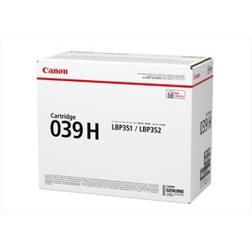 Original Canon Black Toner Cartridge CART 039H