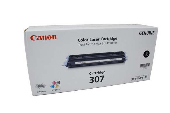 Original Canon Black Toner Cartridge CART 307 (Black)