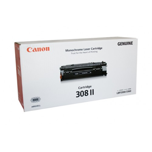 Original Canon Black Toner Cartridge CART 308 II