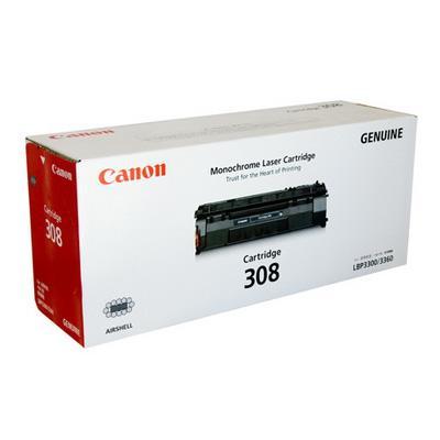 Original Canon Black Toner Cartridge CART 308