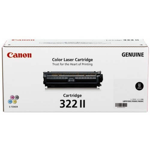 Original Canon Black Toner Cartridge CART 322 II (Black)