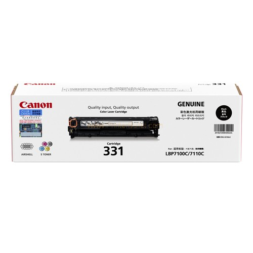 Original Canon Black Toner Cartridge CART 331 (Black)