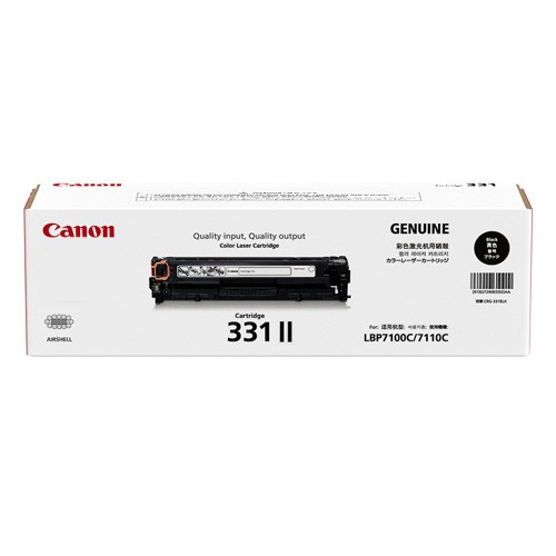 Original Canon Black Toner Cartridge CART 331 II (Black)