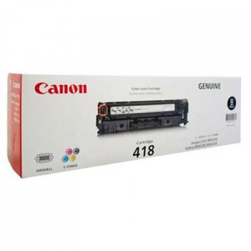 Original Canon Black Toner Cartridge CART 418 (BLACK)