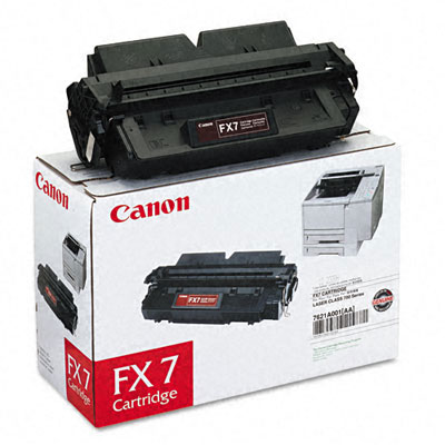 Original Canon Black Toner Cartridge CART FX7