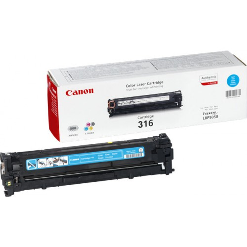 Original Canon Cyan Toner Cartridge CART 316 (Cyan)