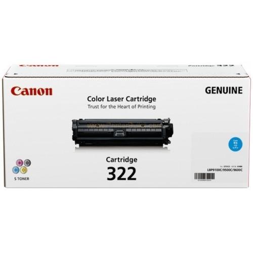 Original Canon Cyan Toner Cartridge CART 322 (Cyan)