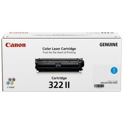 Original Canon Cyan Toner Cartridge CART 322 II (Cyan)