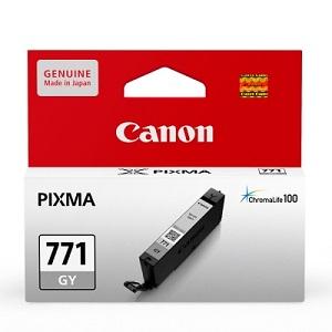 Original Canon Grey Dye Ink Cartridge CLI-771 GY