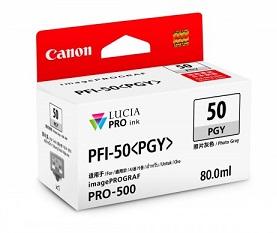 Original Canon Grey Ink Cartridge PFI-50 PGY