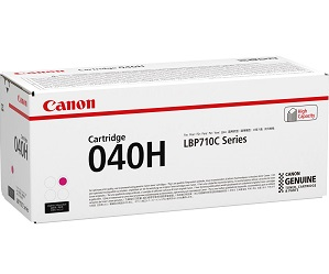 Original Canon Magenta High Cap Toner Cartridge CART 040H M