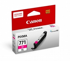 Original Canon Magenta Ink Cartridge CLI-771 M XL