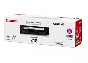 Original Canon Magenta Toner Cartridge CART 318 (Magenta)
