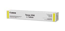 Original Canon Yellow Toner Cartridge CART 034 YELLOW