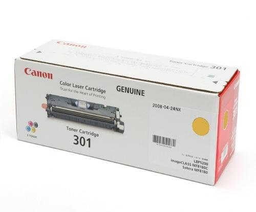 Original Canon Yellow Toner Cartridge CART 301 (Yellow)