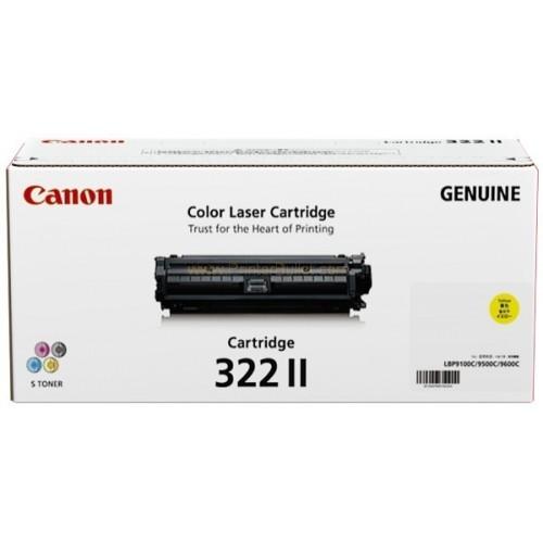 Original Canon Yellow Toner Cartridge CART 322 II (Yellow)