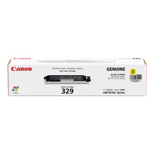 Original Canon Yellow Toner Cartridge CART 329 (Yellow)