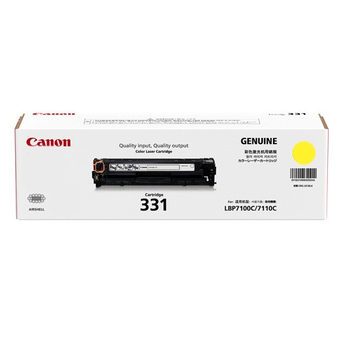 Original Canon Yellow Toner Cartridge CART 331 (Yellow)